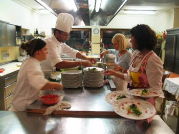 Our kitchen-team with Chef Paul