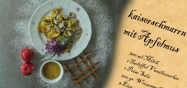 Kaiserschmarrn Grundrezept rezept kaiserschmarrn mit apfelmus vom hotel reichegger in